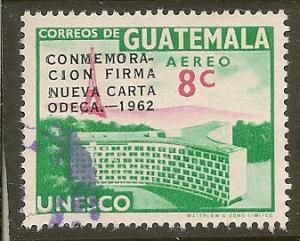 Guatemala  Scott  C268  Overprint   Used