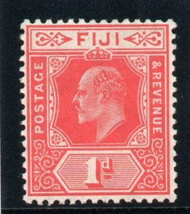 Fiji 1906 KEVII 1d red superb MNH. SG 119. Sc 72.