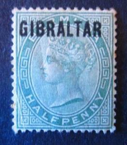 Gibraltar #1 Used - (AZ5) WDWPhilatelic!
