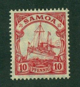 Samoa 1915 #72 MNG SCV(2020) = $1.60