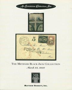 The Metzger Black Jack Collection, Matthew Bennett, Sale 244, March 23, 2002