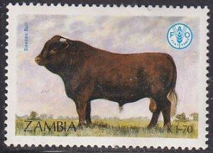 Zambia 420  Sussex, Cattle, Bull 1987