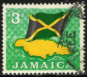 Jamaica 1964 Scott# 221 Used