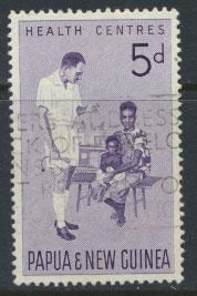 Papua New Guinea SG 57  SC# 184  Used -  Health Services
