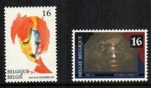 Belgium  1537 - 1538  MNH $ 2.00 222