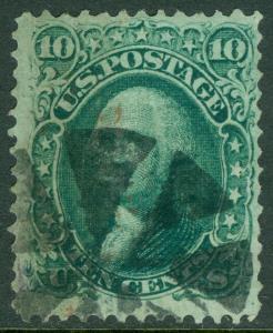 EDW1949SELL : USA 1868 Scott #96 Used. Small faults. Catalog $250.00.