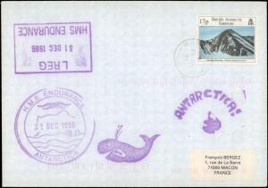 British Antarctic Territory #130, Antarctic Cachet and/or Cancel