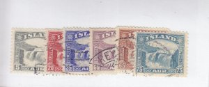 Iceland: Sc #170-175, Complete Set, Used (S18968)