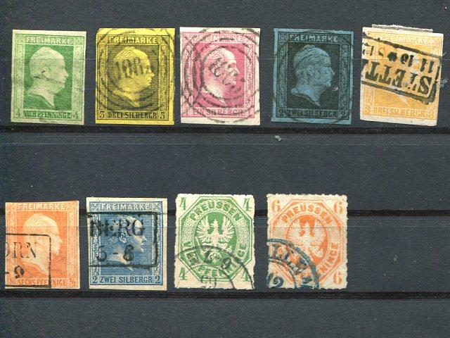 Prussia Collection Used F-VF  - LSP