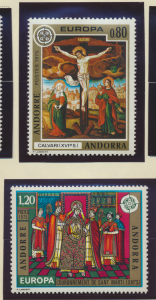 Andorra (French Administration) Stamps Scott #236 To 237, Mint Never Hinged -...
