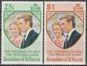 St Vincent Grenadines #1-2  MNH F-VF  (V3645)