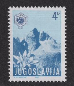 Yugoslavia  #1616   1983 MNH Mount Jalovec