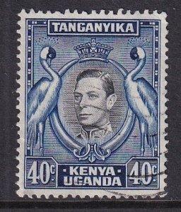 Kenya Uganda & Tanzania   #78  used  1952 .   40c
