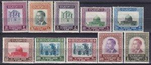 Jordan #326-9, 331-2, 334-7  MNH CV $109.60 (Z4988)