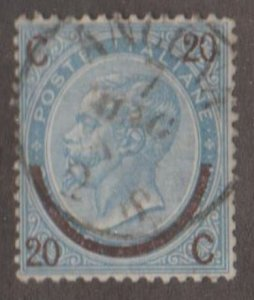 Italy Scott #34 Stamp - Used Single