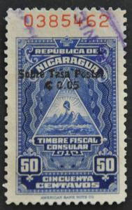 DYNAMITE Stamps: Nicaragua Scott #RA64 – USED