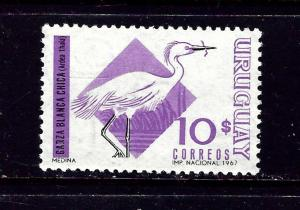 Uruguay 756 MNH 1968 Bird