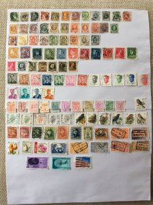 Belgium 100+ stamps - Lot C