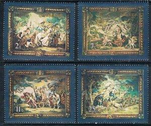 1979 Malta 584-587 Artist / Peter Paul Rubens