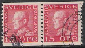 Sweden #168 King Gustaf V Used