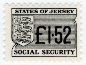 (I.B) Jersey Revenue : Social Security £1.52