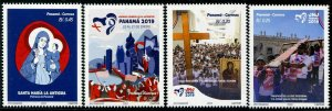 HERRICKSTAMP NEW ISSUES PANAMA World Youth Summit 2019