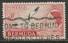 BERMUDA 153 VFU BIRD L3362-6