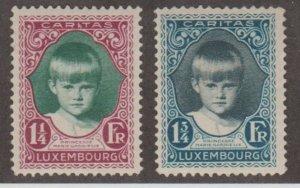 Luxembourg Scott #B38-B39 Stamps - Mint Set