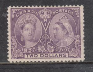 Canada #62 VF Mint - Short Perf At Right