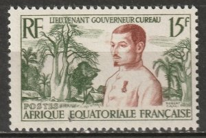 French Equatorial Africa 1954 Sc 187 MLH*