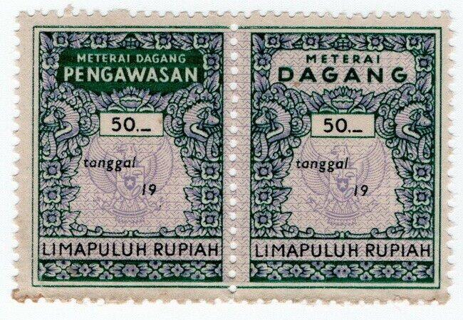 (I.B) Indonesia Revenue : Transaction Tax 50R (Meterai Dagang)