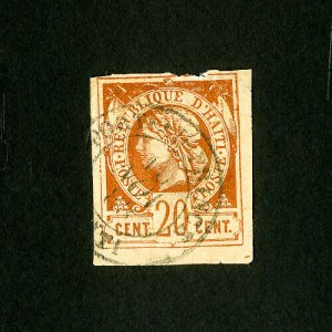 Haiti Stamps # 20 4 margins used Scott Value $20.00