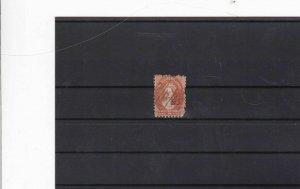 tasmania stamp ref 11581