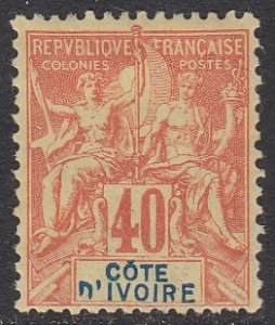 Ivory Coast 13 MH CV $30.00