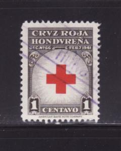 Honduras RA4 Set U Red Cross (B)