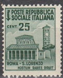 Italy- ISR  #25 MNH F-VF (V1483)