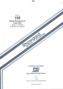 SHOWGARD BLACK MOUNTS 265/198 (5) RETAIL PRICE $17.25