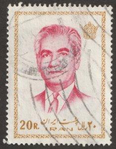 Persian/Iran stamp, Scott# 1660, used hinged, Mohammad Reza Shah Pahlavi #F-38