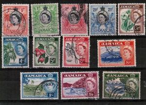 JAMAICA - MIXTURE OF GOOD USED STAMPS 1