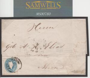 MS780 1863 Austria-Hungary ROMANIA *Crajowa* Cover Vienna {samwells-covers}