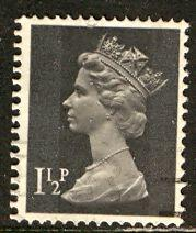Great Britain; 1971: Sc. # MH24: O/Used Single Stamp