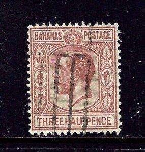 Bahamas 73 Used 1934 Issue    #1