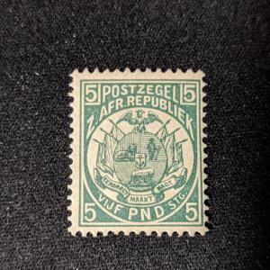 Transvaal 135 Reprint VFXLH, CV $175