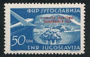 YUGOSLAVIA C49 MINT VF LH AIRPLANE
