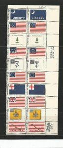 USA Stamps #1354a Strip of 20