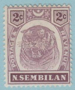 Negri Sembilan 6 Postfrisch Leicht mit Scharnier Og Kein Fehler Sehr Fein
