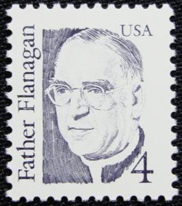 US #2171a MNH Single, Untagged, Father Flanagan, SCV $.25