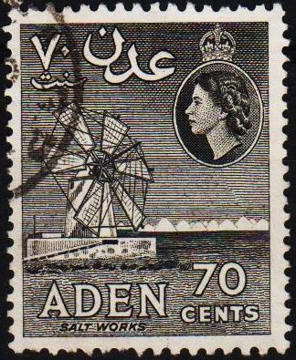 Aden. 1953 70c S.G.61a Fine Used