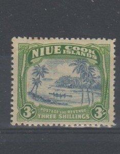 Niue 1938 3s UM