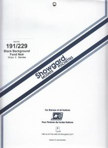 SHOWGARD BLACK MOUNTS 191/229 (5) RETAIL PRICE $15.25